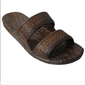 Pali Hawaii Dark Brown Classic Jandals Men Sandals